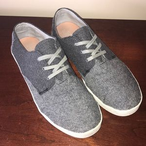 Men's Herringbone Toms Size 12